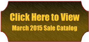 March 2015 Sale Catalog